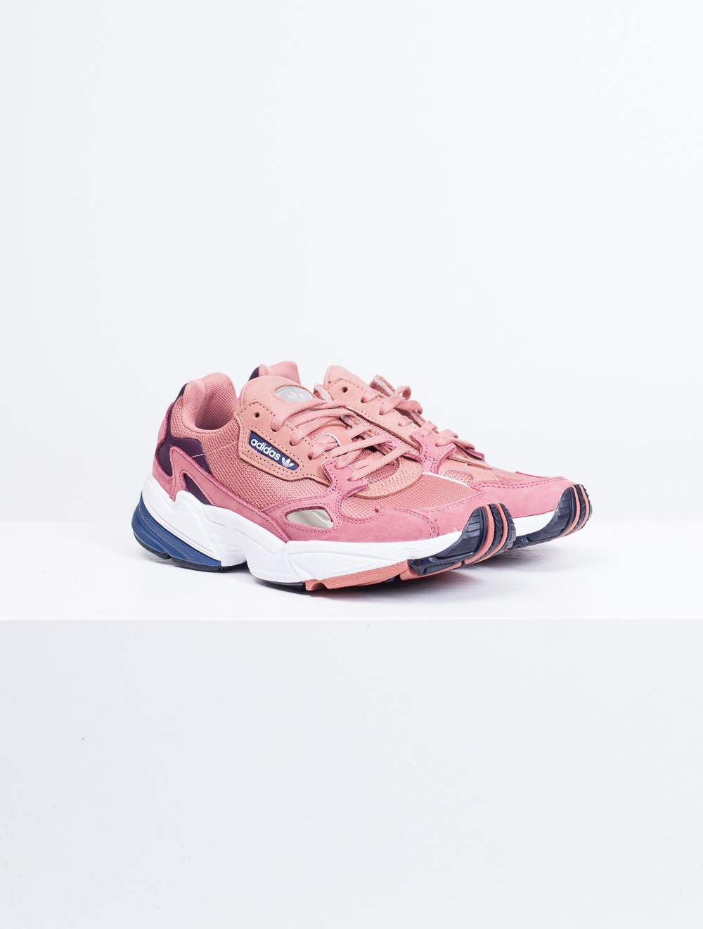 best sneakers a2419 17037 Adidas  Falcon W D96700 RAWPINDKBLUE - Sneakers
