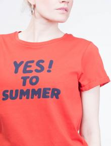 566beb1ca6f5 T-Shirt Yes To Summer F · A.P.C.