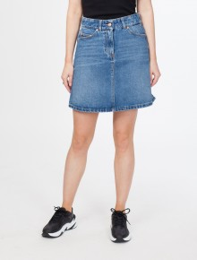 551cf9cc Maiken Denim Skirt Nice Blue