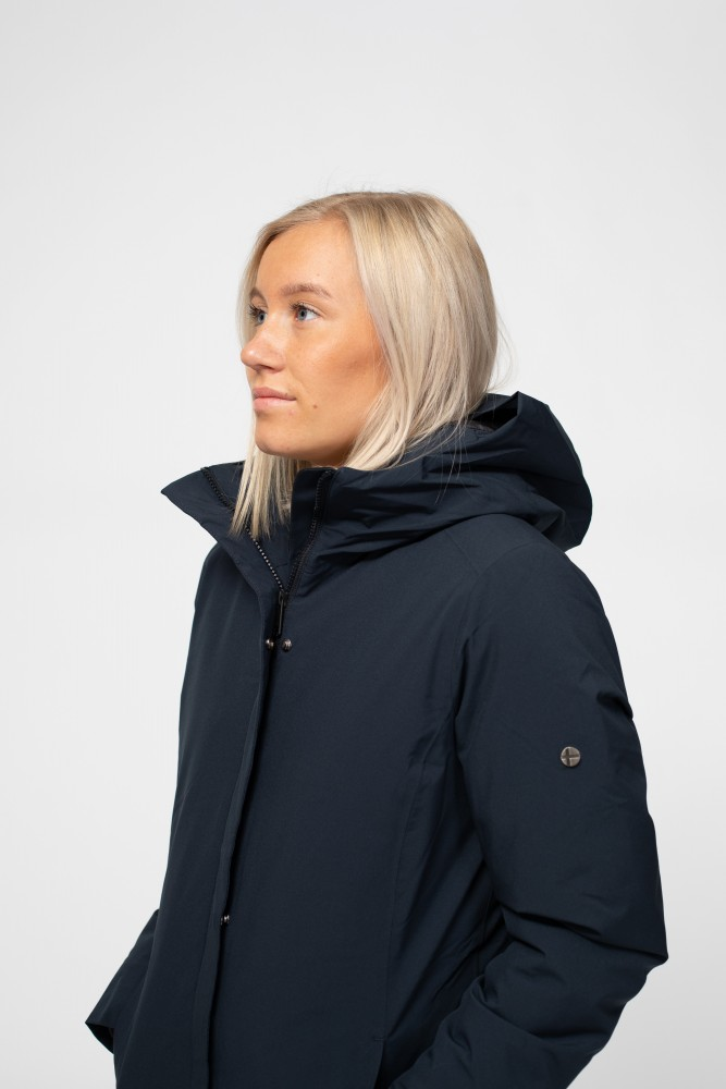 Scandinavian Edition | W Coat Navy –| Retro